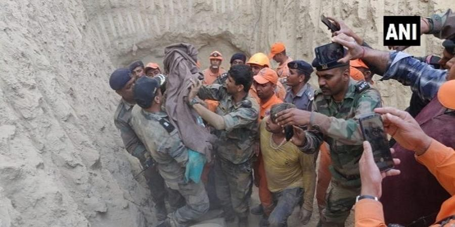 Toddler Successfully rescued From 60 Ft Borewell in Hisar