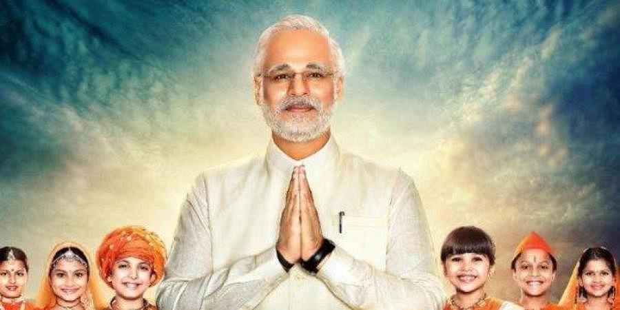 Vivek Oberoi in and as Narendra Modi.