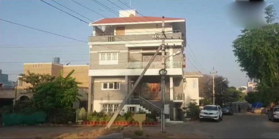 IT Raid on Minister CS Puttaraju house in Mysuru
