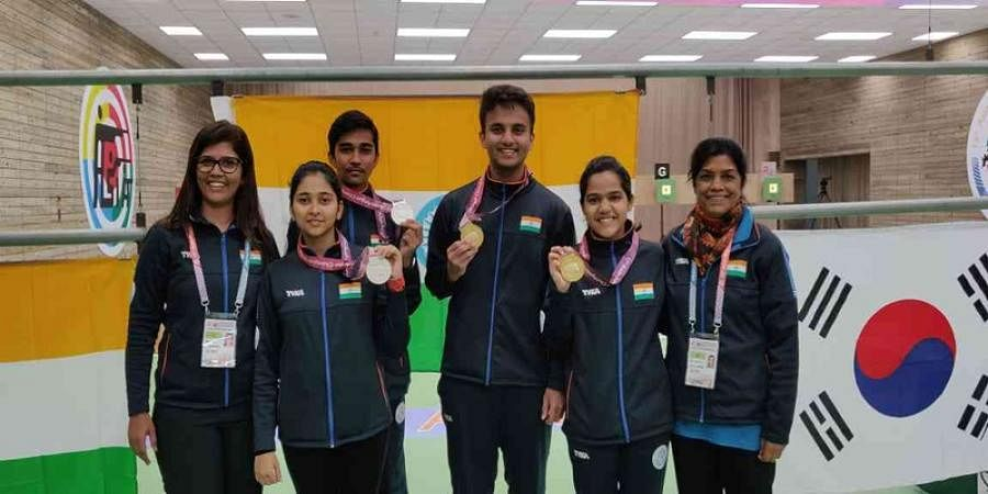 Indian shooters win three more medals on second day of Asian Airgun Championship