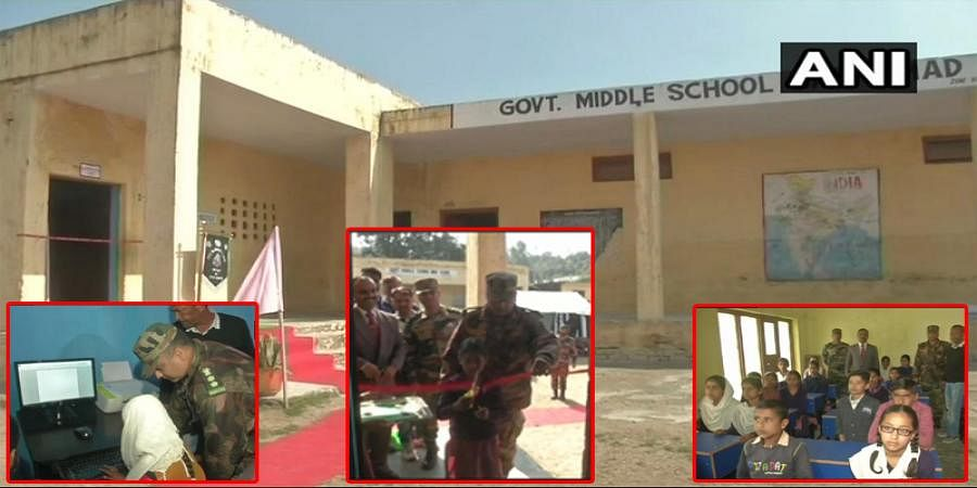 Indian Army installs infra, computers in Govt School in Samba: Sources