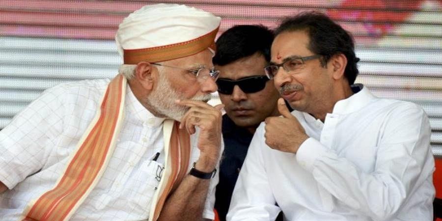 Sena gives '200 out of 100' to BJP's LS poll manifesto