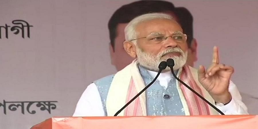 Boy with golden spoon can only drink tea, not make it: Narendra Modi's dig at Rahul Gandhi