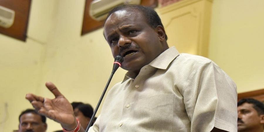HD Kumaraswamy slams IT raids over Shiva temple in Hassan