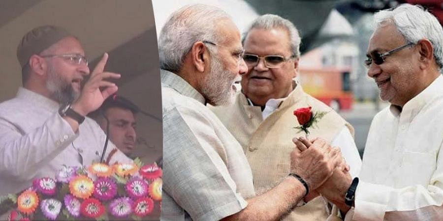 Love of Modi-Nitish Kumar is stronger than Laila-Majnu Says Asaduddin Owaisi