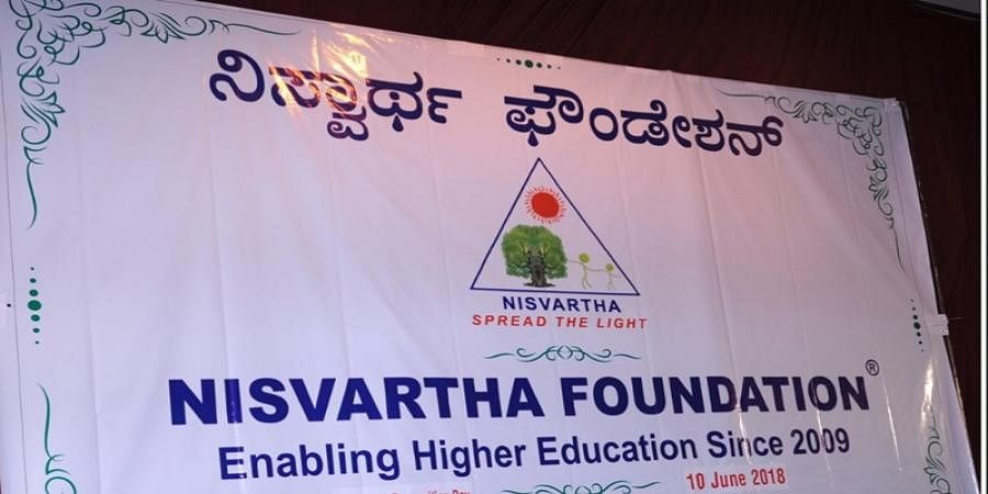 Nisvartha foundation offers scholarship for 2nd pu completed students terms and conditions apply