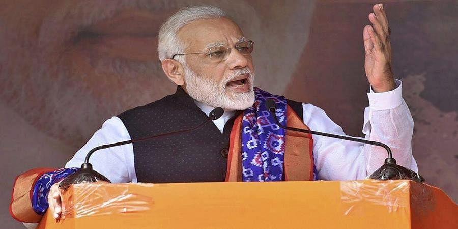 'One vote' made surgical strike possible in Pakistan: Modi in Chhattisgarh