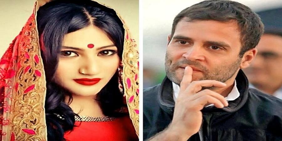 I am in love with Rahul Gandhi, says actress Mahika Sharma