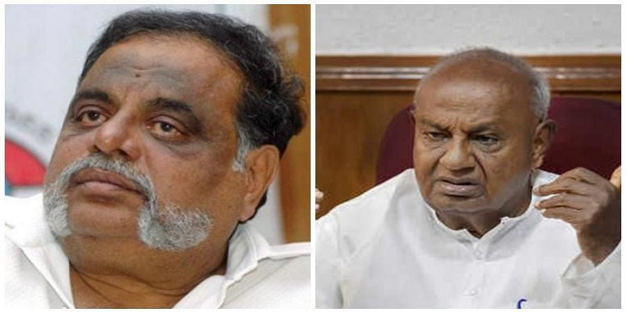 Ambareesh And H D Deve Gowda