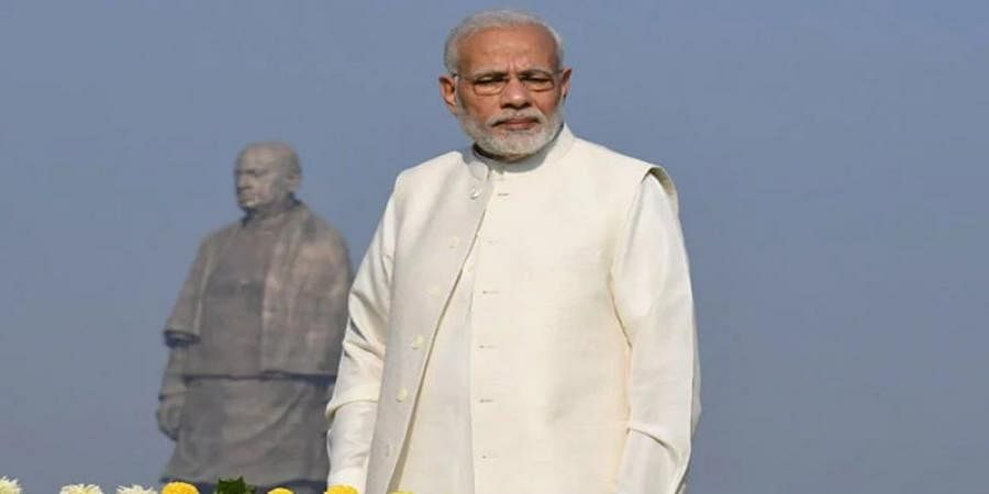 Sardar Patel statue not built to spite Nehru: PM Modi