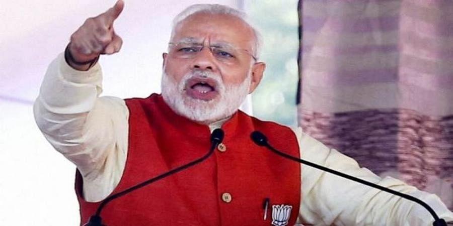 Congress for 'vote bhakti', BJP for 'desk bhakti': Modi