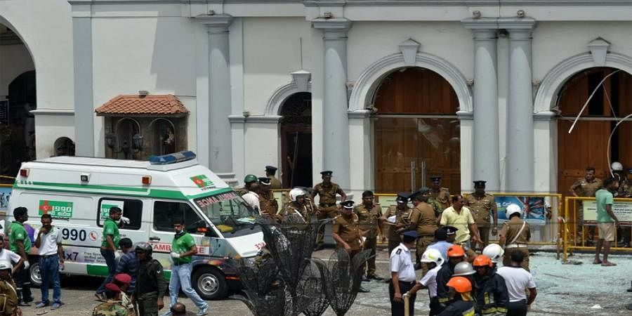 PM Modi, President Kovind Condemns SriLanka terror attacks