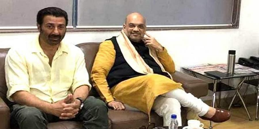 Loksabha Election 2019: Sunny Deol BJP Candidate From Amritsar? Amit Shah Meets Action Hero