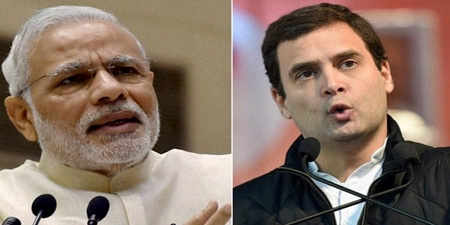 In direct contest for PM, voters in AP, Punjab, Kerala, TN prefer Rahul over Modi: CVOTER-IANS