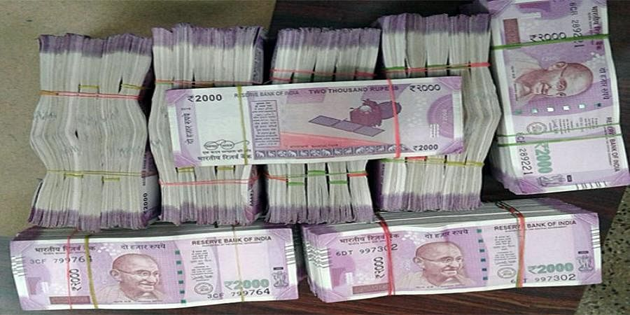 Fourteen lakh rupees recovered during IT raids at Belgaum