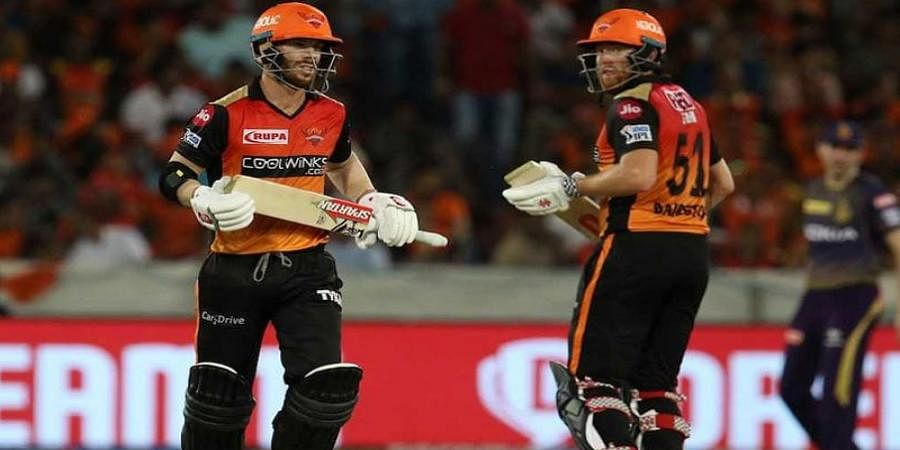 IPL 2019: Ahead of ICC World Cup, David Warner and Jonny Bairstow leave Sunrisers Hyderabad to attend camp