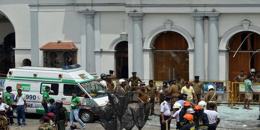 shrilanka baomb blast (file Image)