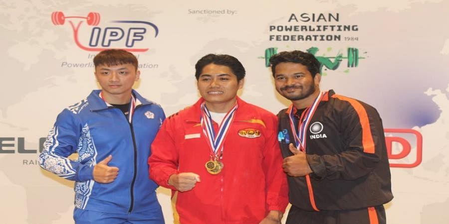Mangaluru: Pradeep Acharya bags 2 silver medals in power-lifting in Hong Kong