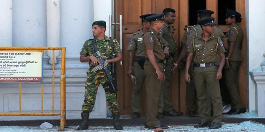 Blast heard in Pugoda town, 40 km east of Sri Lankan capital Colombo