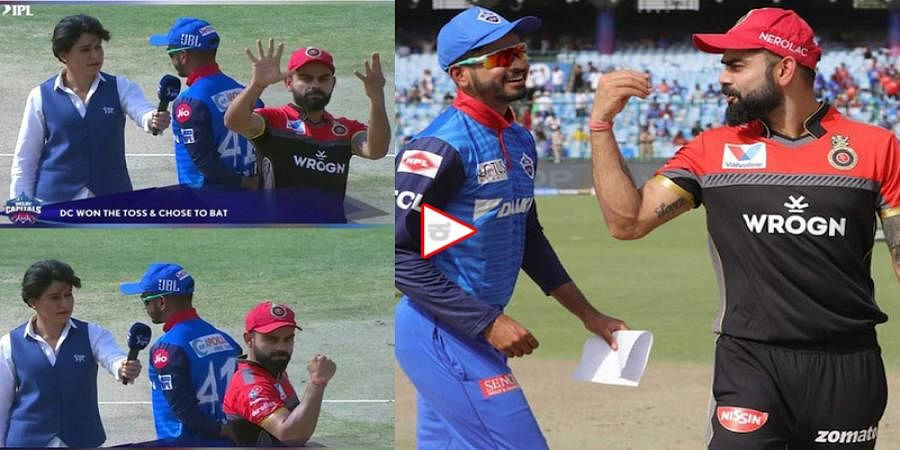 Watch: RCB Skipper Virat Kohli Celebrates In Style After Losing 9th Toss In IPL 2019