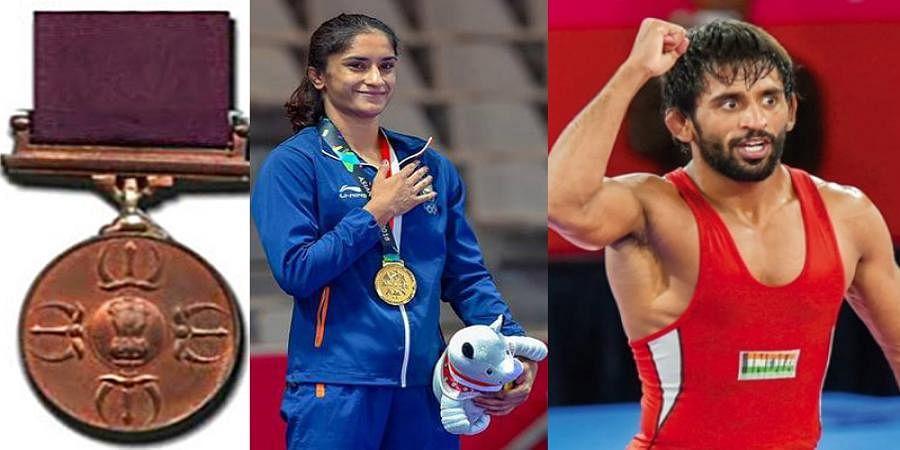 WFI recommends Vinesh Phogat, Bajrang Punia for Rajiv Khel Ratna Award