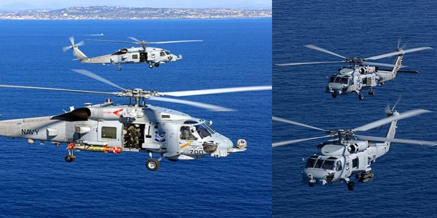 US approves sale of MH 60 Romeo choppers to India: Sources