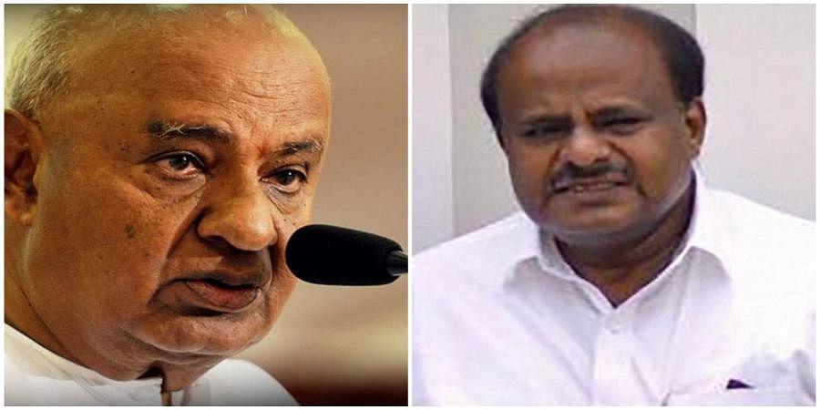 H D Deve Gowda and H D Kumaraswamy
