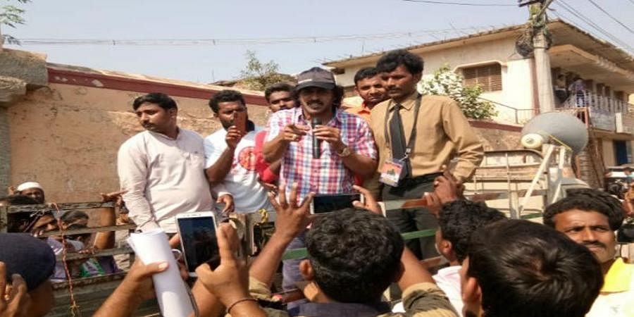 Upendra Finishes His Rally In Just 1 Minute