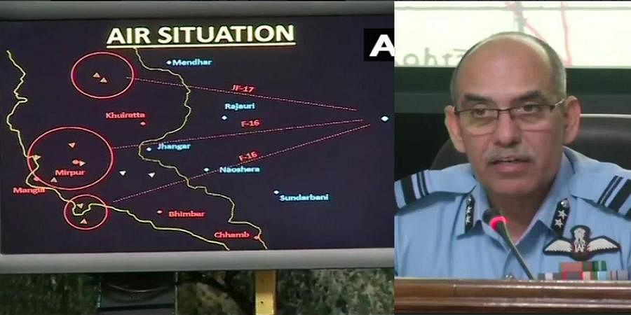 Amid Calls For Proof, indian Air Force Shows Radar Images Of Pakistan F-16 Encounter