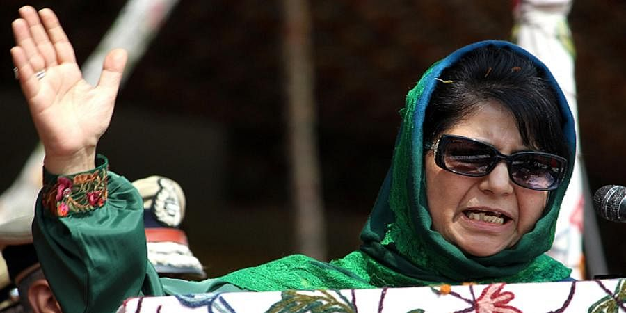 Don't play with fire: PDP Chief Mehbooba Mufti on BJP manifesto