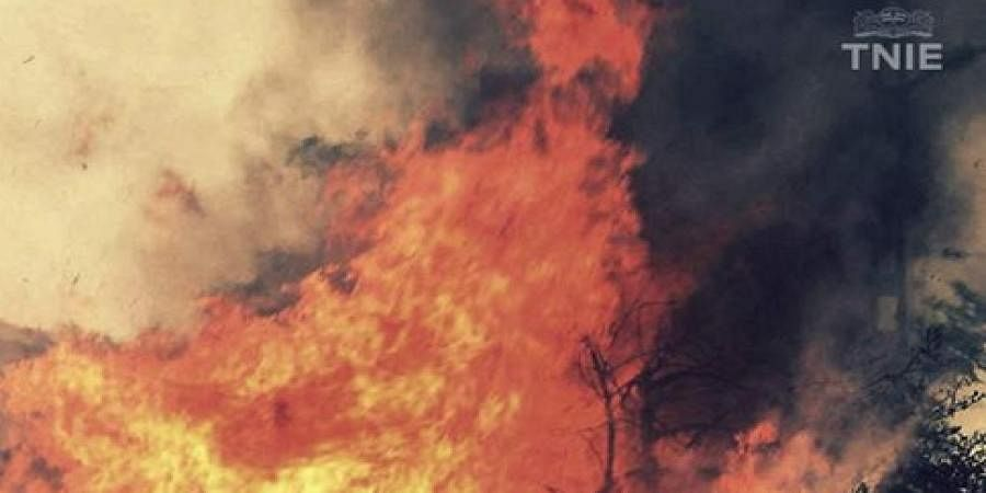 Six-month-old, 4 others charred to death while sleeping as fire breaks out in Lucknow home