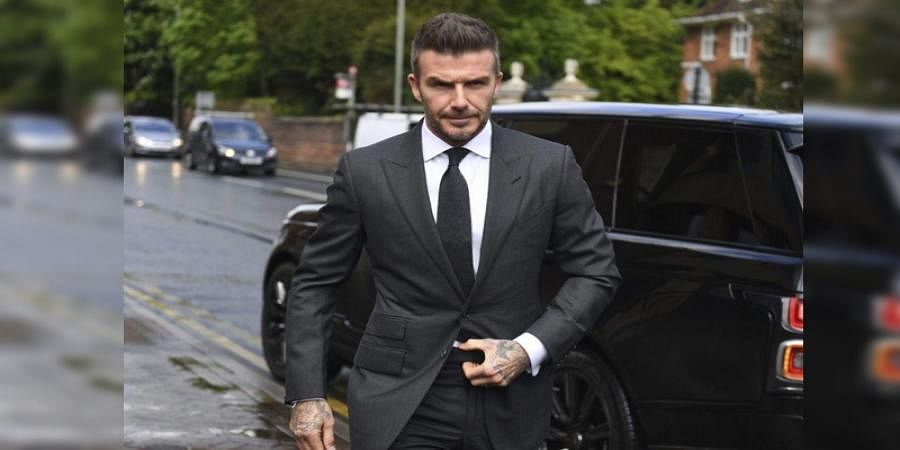 David Beckham gets 6-month ban for using phone while driving