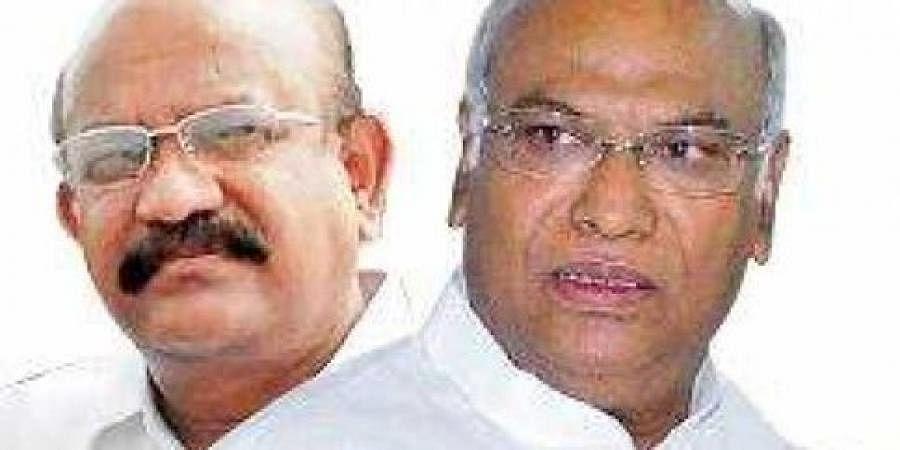 Mallikarjun Kharge and Dr. Umesh Jadhav,