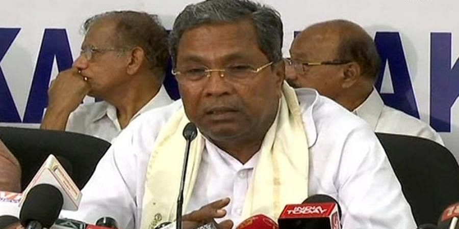 Siddaramaiah slams BS Yeddyurappa over comments on 20 dissident congress MLA's