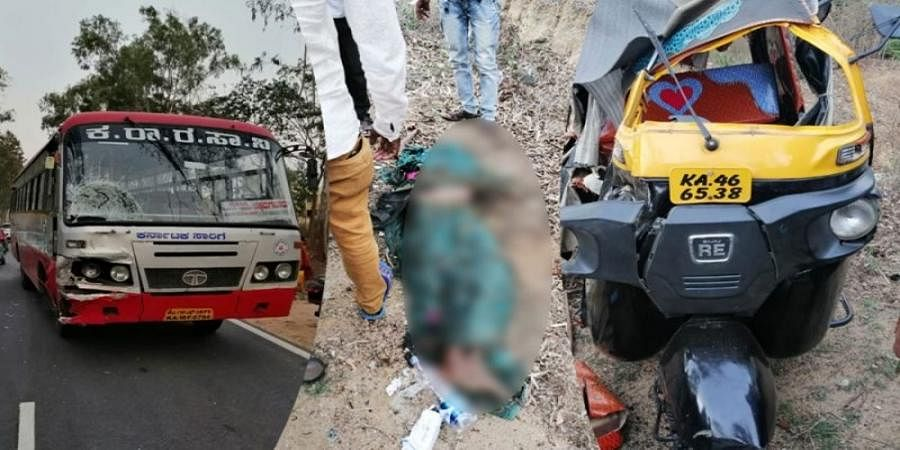 3 killed in road accident at Hassan