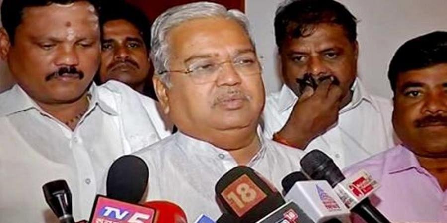 Siddaramaiah is encouraging the land mafia in Bengaluru, alleges Govind M. Karjol