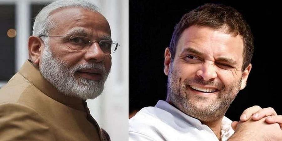 Narendra Modi-Rahul Gandhi