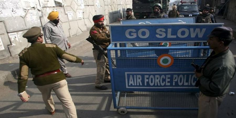 Security up after intel against airbase attack on Srinagar and Awantipora