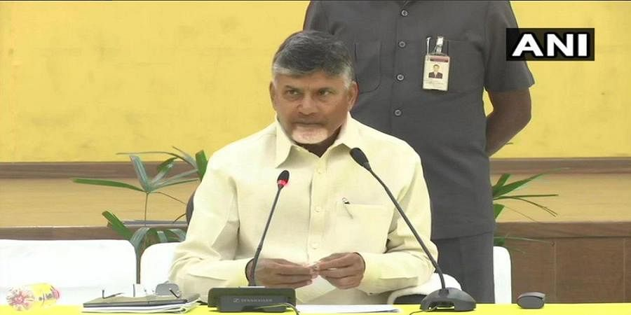 Chandrababu Naidu, along with 21 opposition parties leaders, will meet EC tomorrow