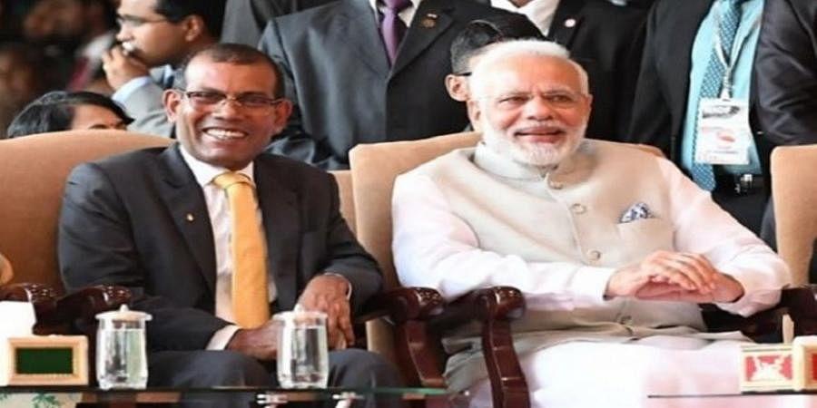 Mohamed Nasheed-Narendra Modi