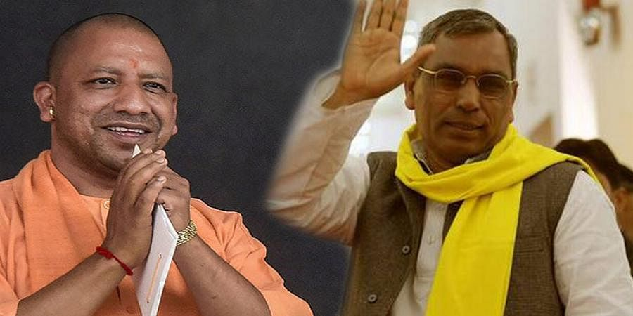 UP CM Yogi Adityanath recommends to governor sacking of minister Om Prakash Rajbhar from his cabinet