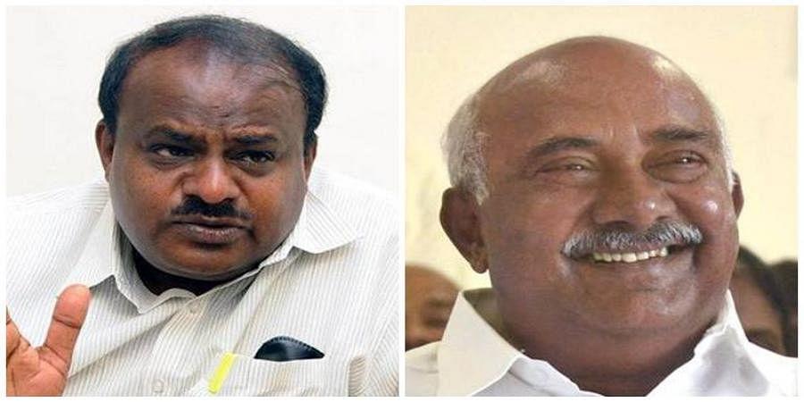 HD Kumaraswamy And H.Vishwanath
