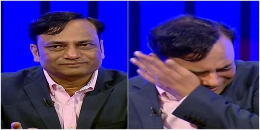 Axis My India chief, who got election results 100% right, breaks down on live TV