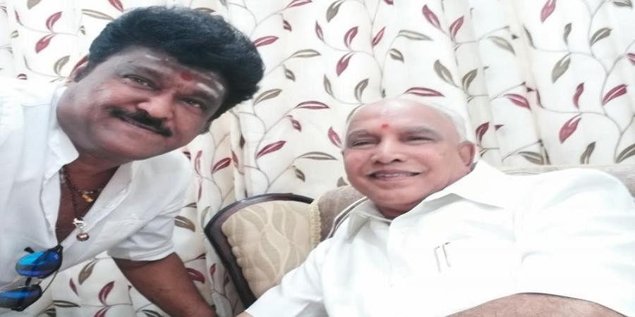 Jaggesh, BS yeddyurappa