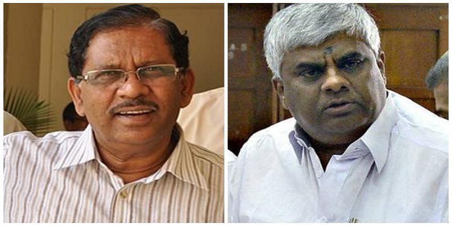Parameshwara and H D Revanna