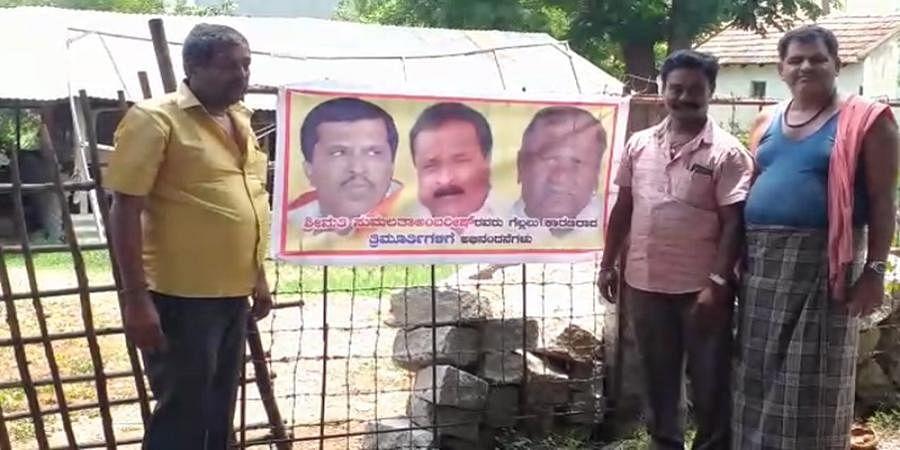 congratulated  Banner