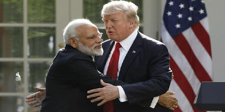 US President Donald Trump congratulates Narendra Modi says Indian's are lucky to have him