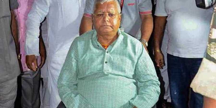 Days After Poll Results, Lalu Yadav Skipping Lunch In Jail, Says Doctor