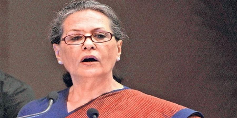 Ready to sacrifice everything to safeguard India's values: Sonia Gandhi