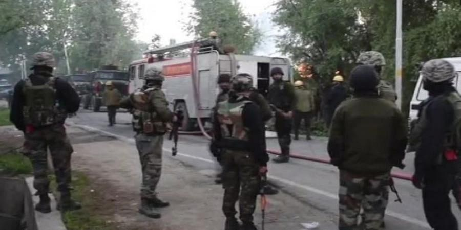 Two terrorists gunned down in Anantnag, Jammu and Kashmir